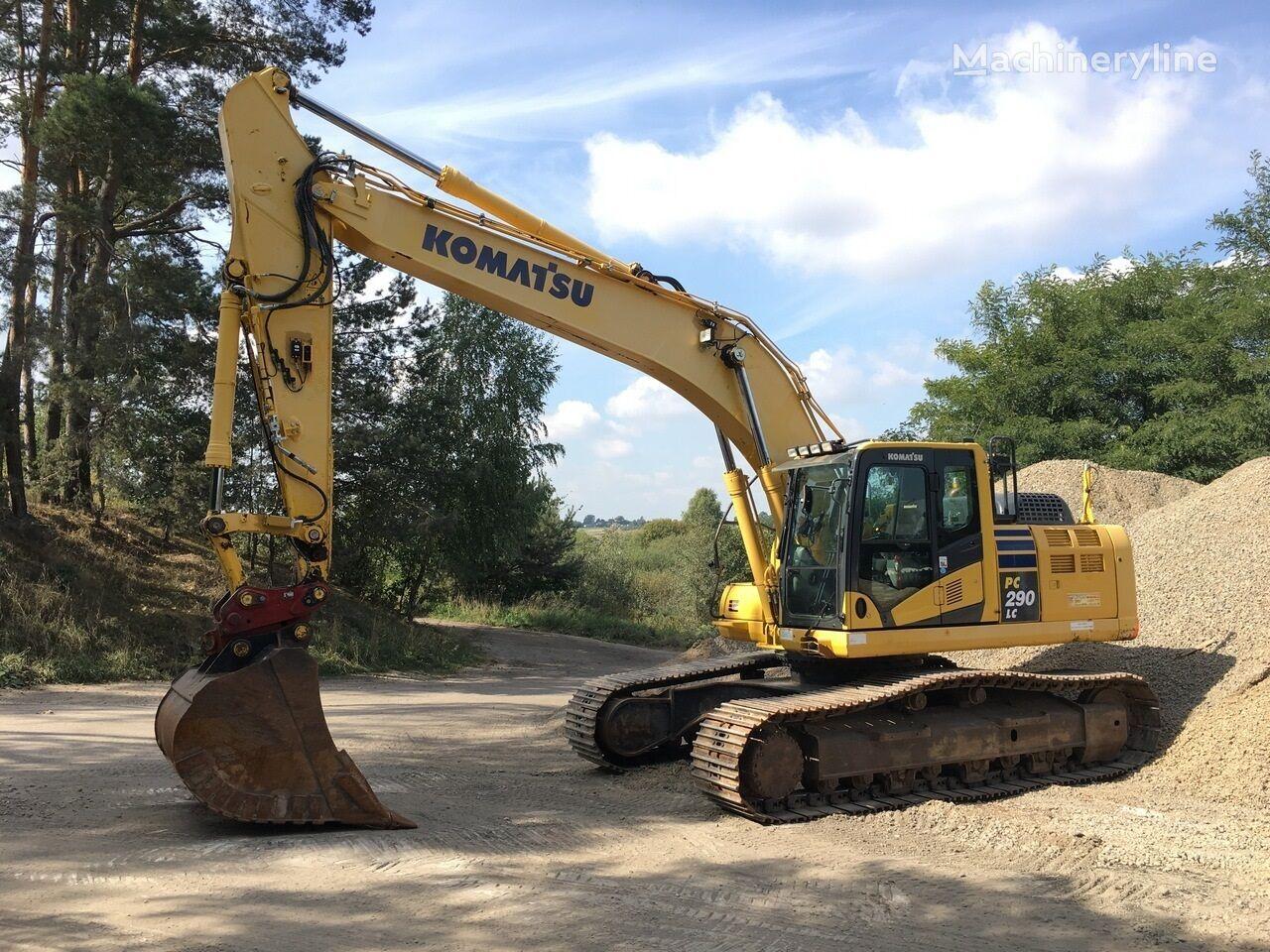 KOMATSU PC290 LC-10 tracked excavator
