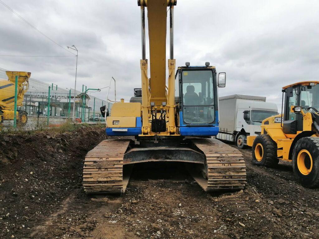 KOMATSU PC340LC-7K LONG tracked excavator