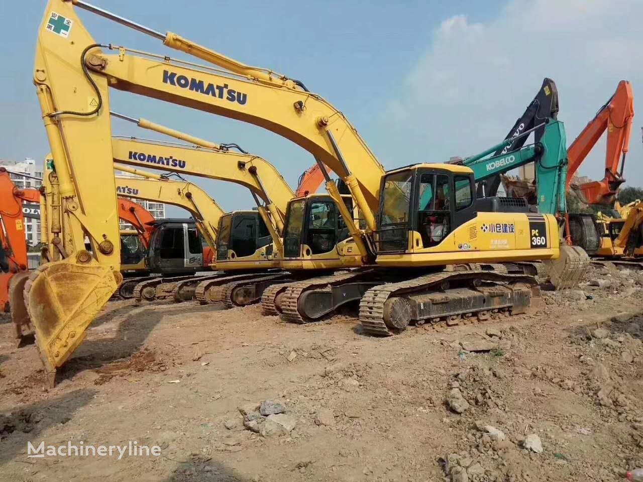 KOMATSU PC360 tracked excavator