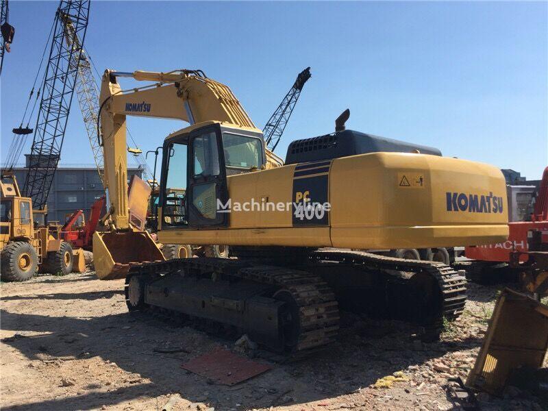 KOMATSU PC400 tracked excavator