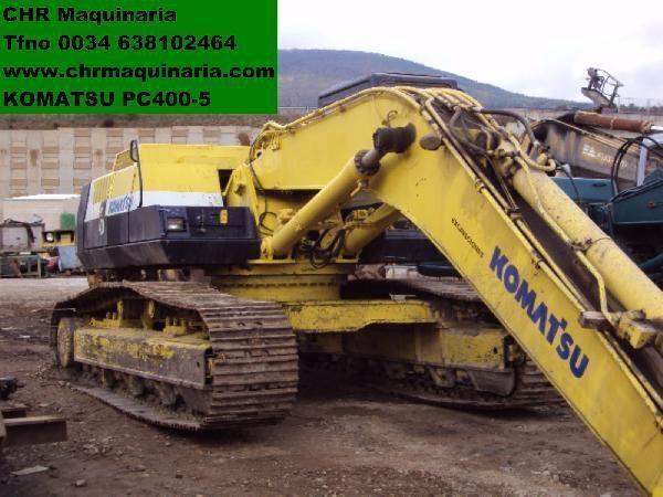 KOMATSU PC400-5 tracked excavator