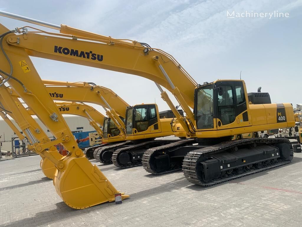 new KOMATSU PC400-8 tracked excavator
