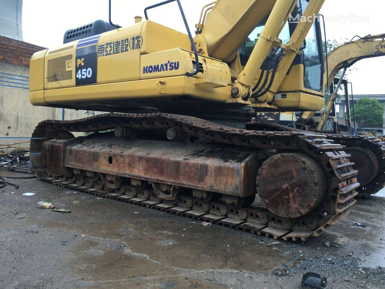 KOMATSU PC450-7 tracked excavator