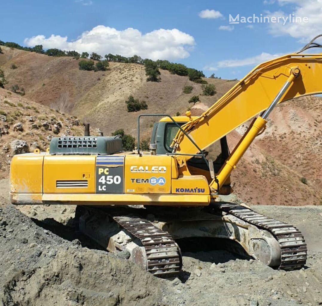 KOMATSU PC450LC-7 tracked excavator