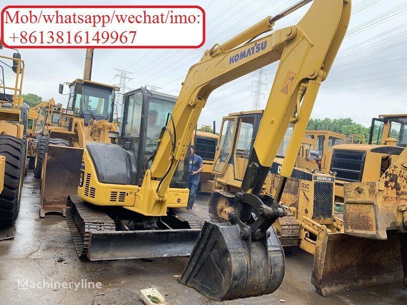 KOMATSU PC55MR-2 tracked excavator