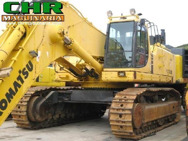 KOMATSU PC750-6 tracked excavator