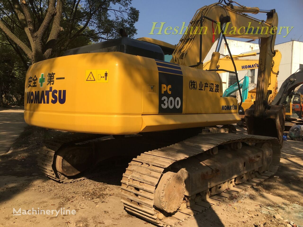 KOMATSU pc300 tracked excavator