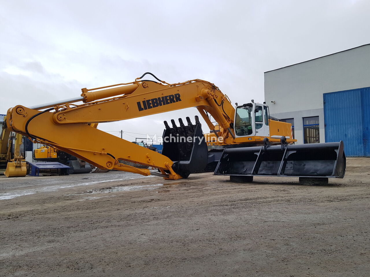 LIEBHERR 964 LONG / CE CERTIFICATE tracked excavator