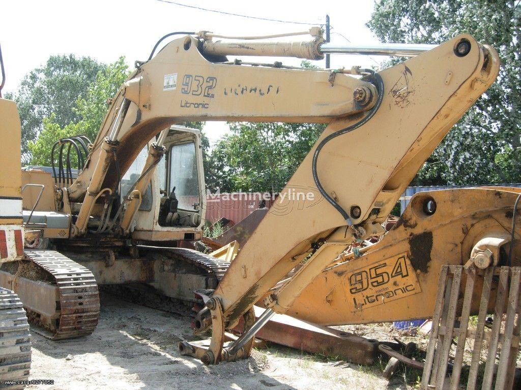 LIEBHERR KOBETAI 932 LITRONIC tracked excavator for parts