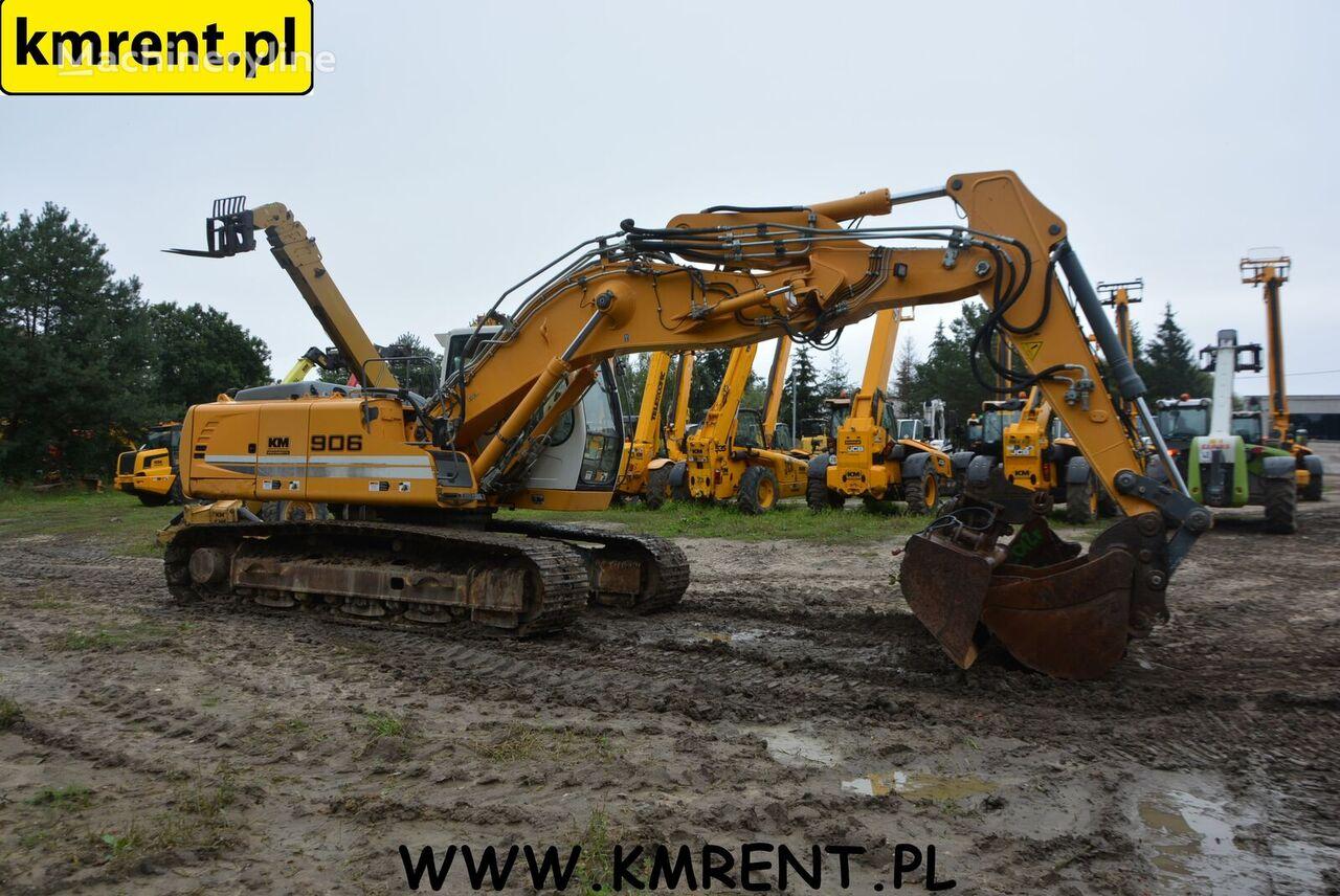 LIEBHERR R 906 LC tracked excavator