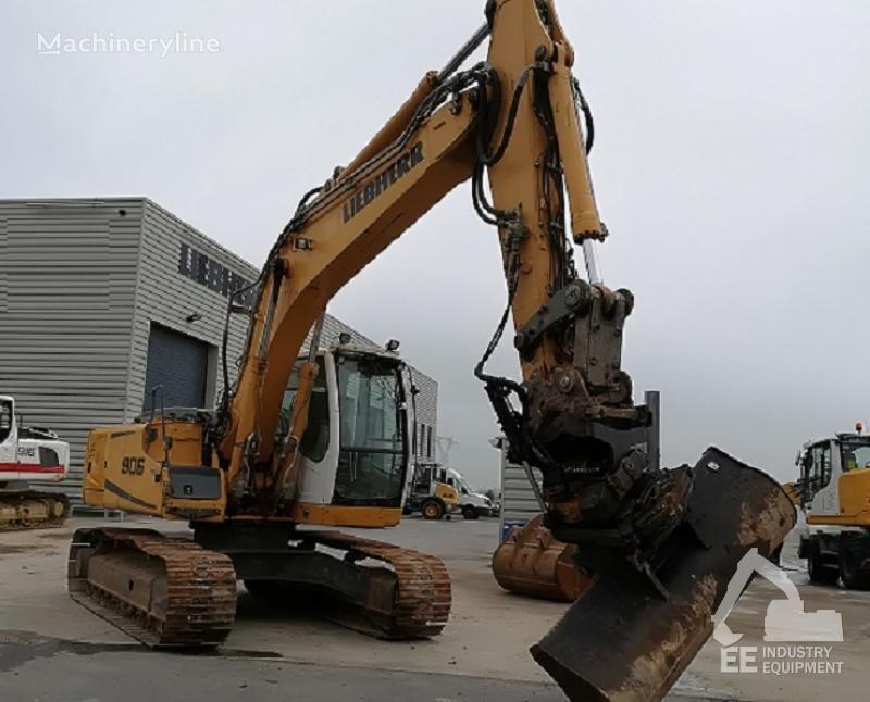 LIEBHERR R 906 LC LITRONIC tracked excavator