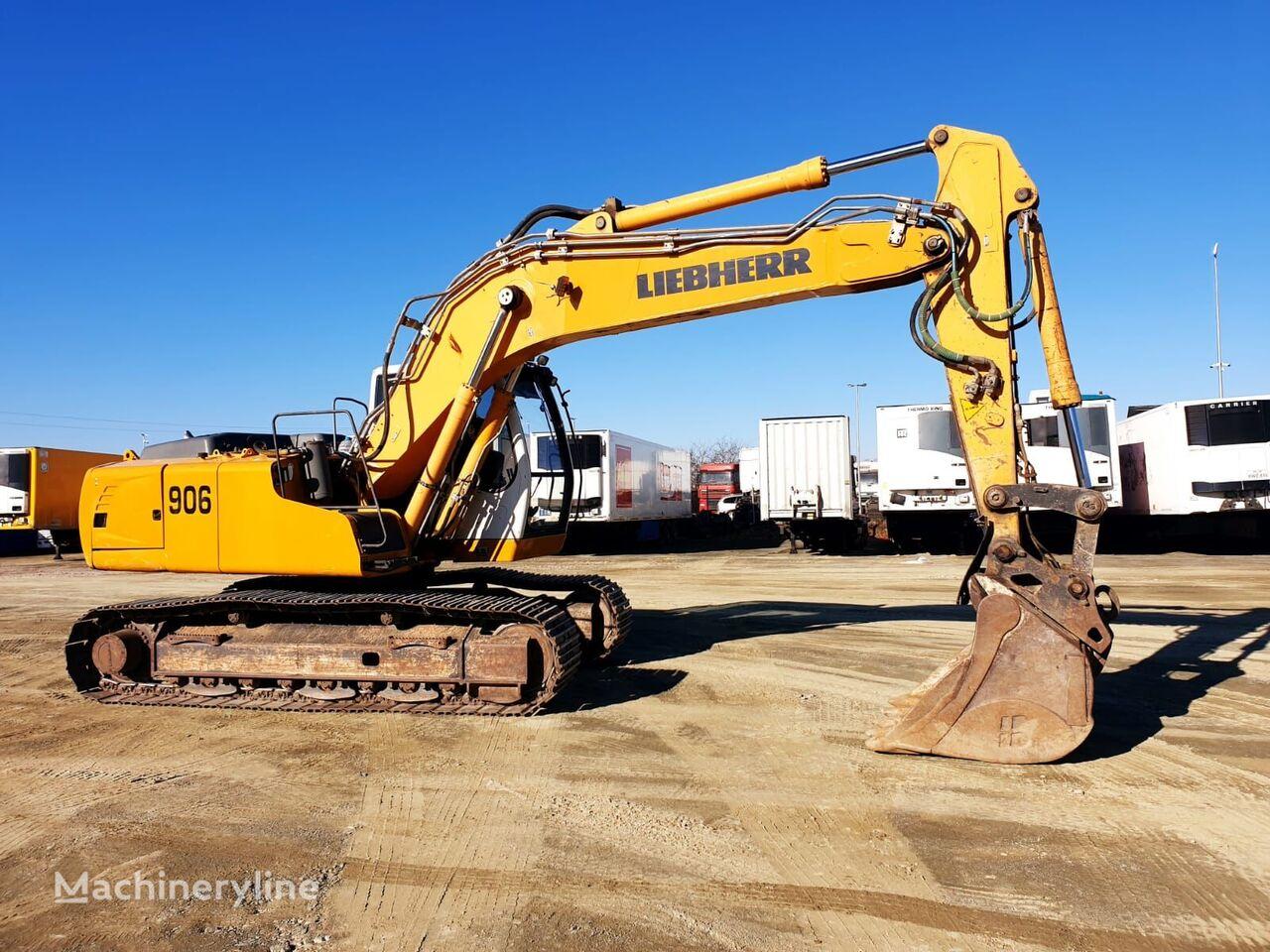 LIEBHERR R906 NLC tracked excavator