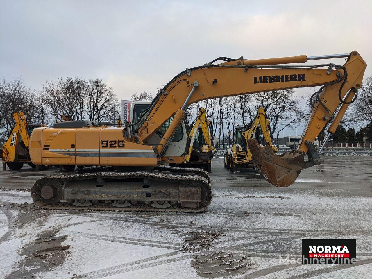 LIEBHERR R926 LC tracked excavator