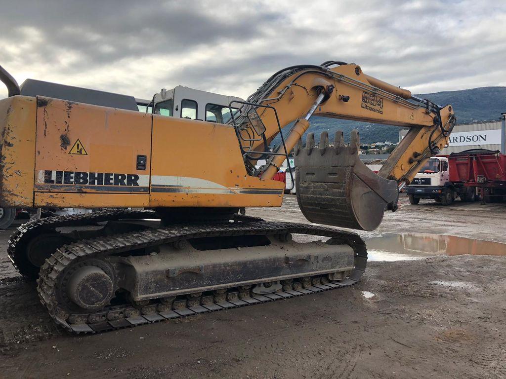 LIEBHERR R934B HD-S tracked excavator