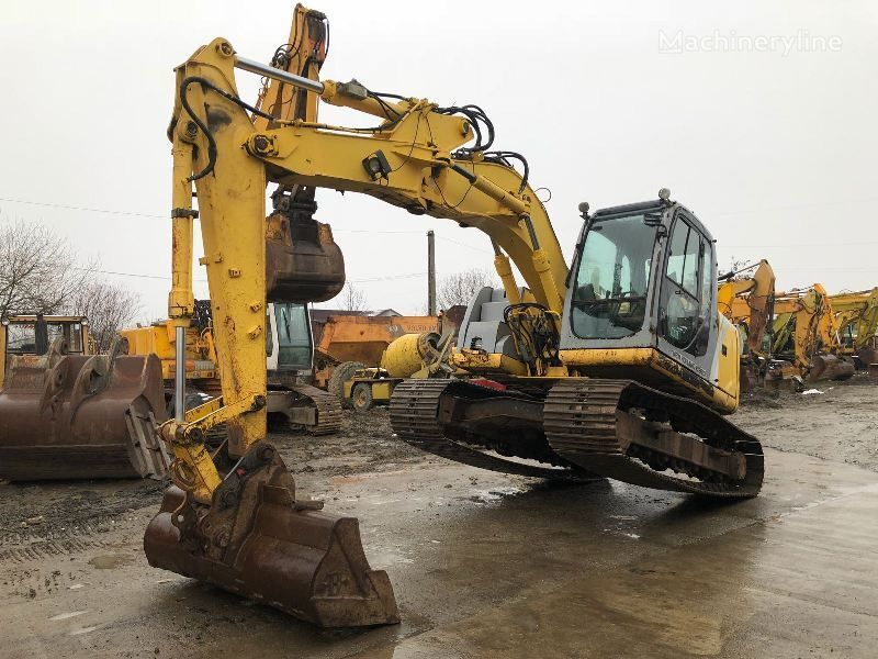 NEW HOLLAND E 145 tracked excavator