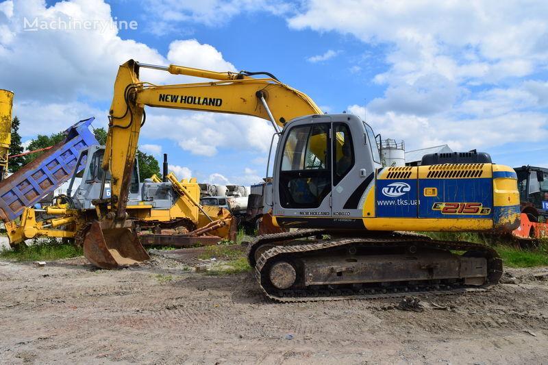 NEW HOLLAND E215B tracked excavator
