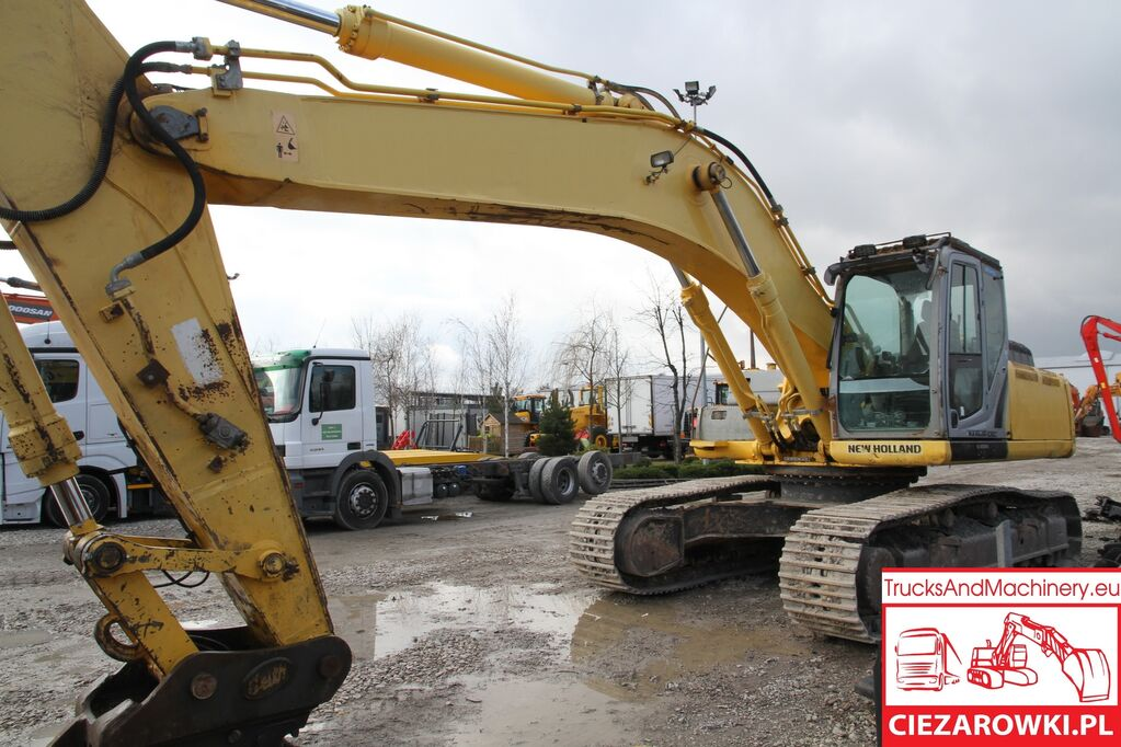 NEW HOLLAND E385B / 37T / quick / track 600mm / joystick / ac  tracked excavator