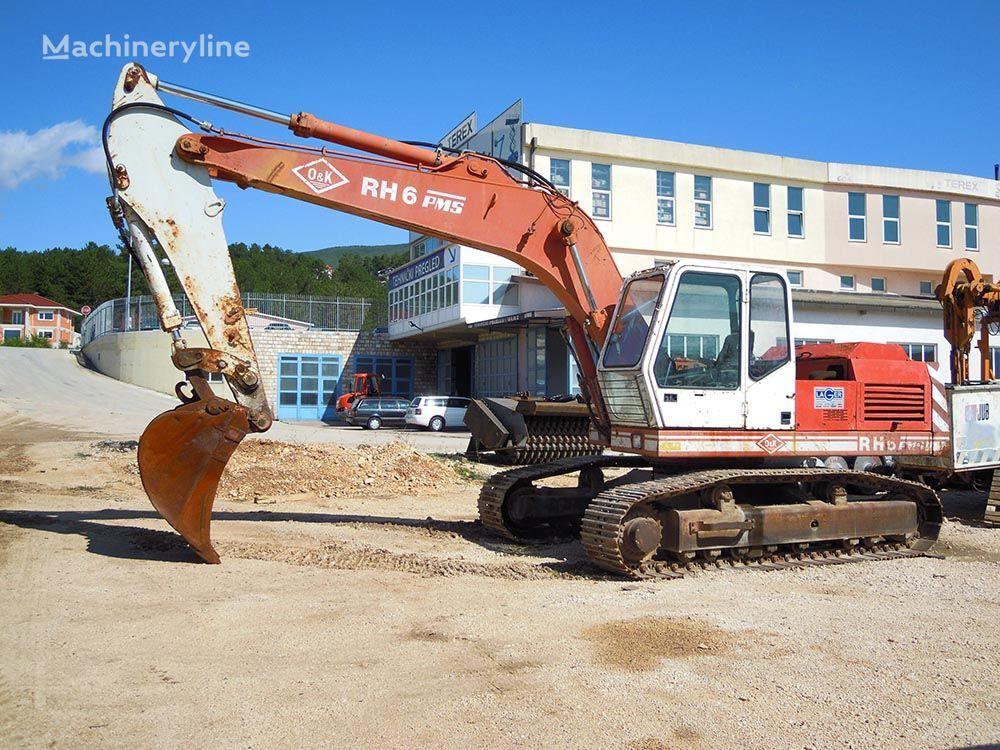 O&K RH6 PMS tracked excavator