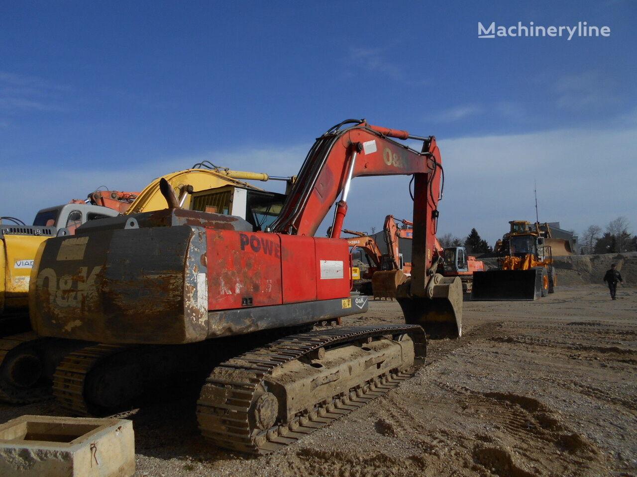 O&K RH8.5 tracked excavator