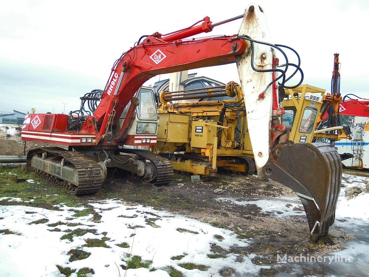 O&K RH9LC tracked excavator