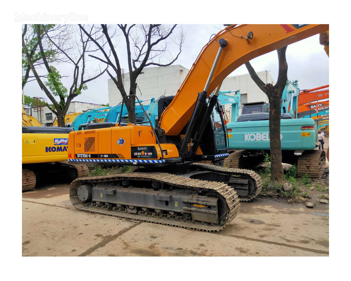 SANY SY 215 tracked excavator
