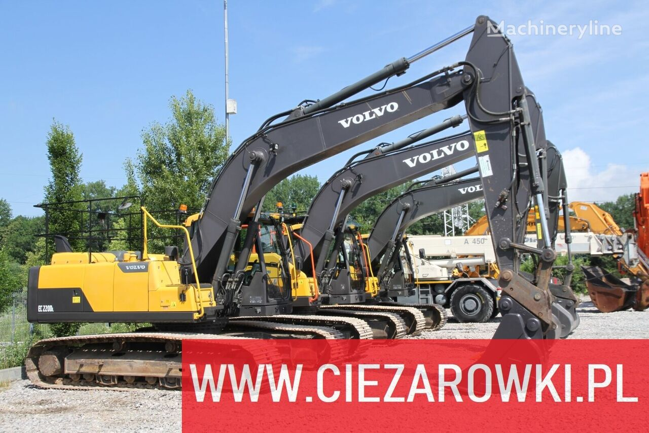 VOLVO 24T , EC220DL 3 UNITS FOR SALE  tracked excavator