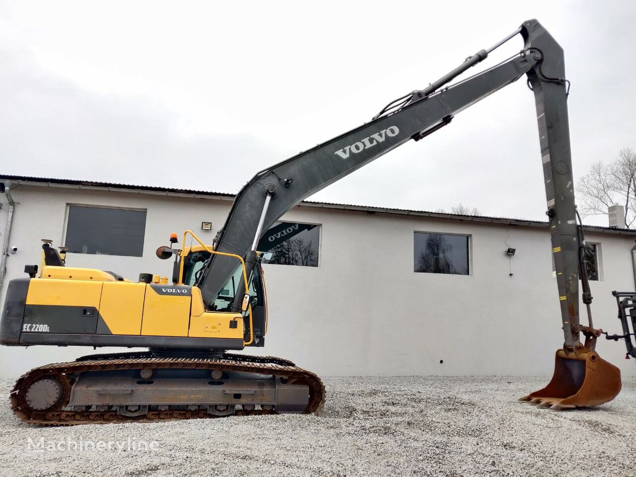 VOLVO-ABG EC 220 DL Long Reach Leica 3D-Nivellierung tracked excavator