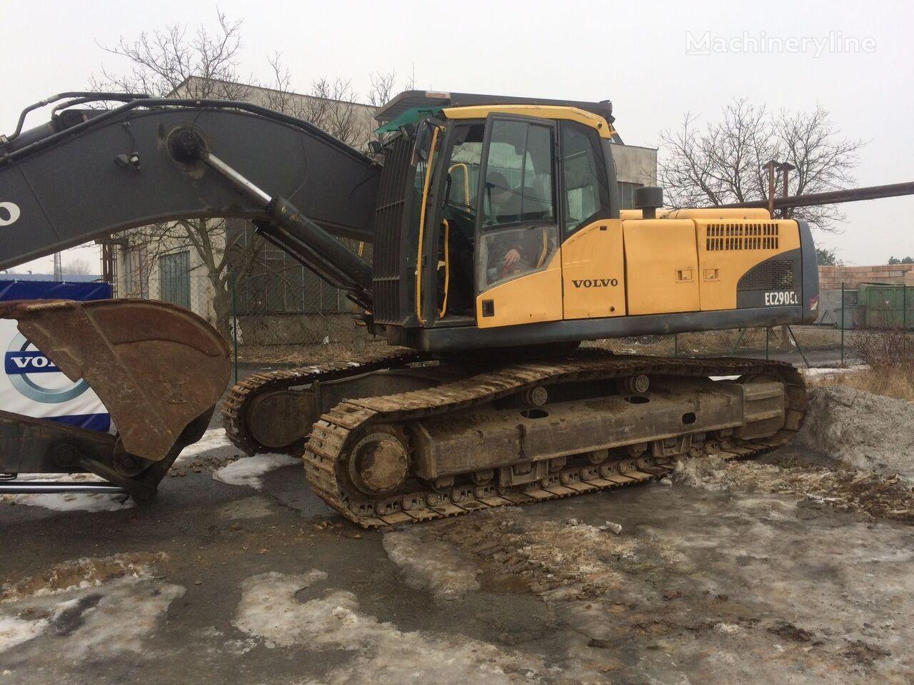 VOLVO EC 290 tracked excavator