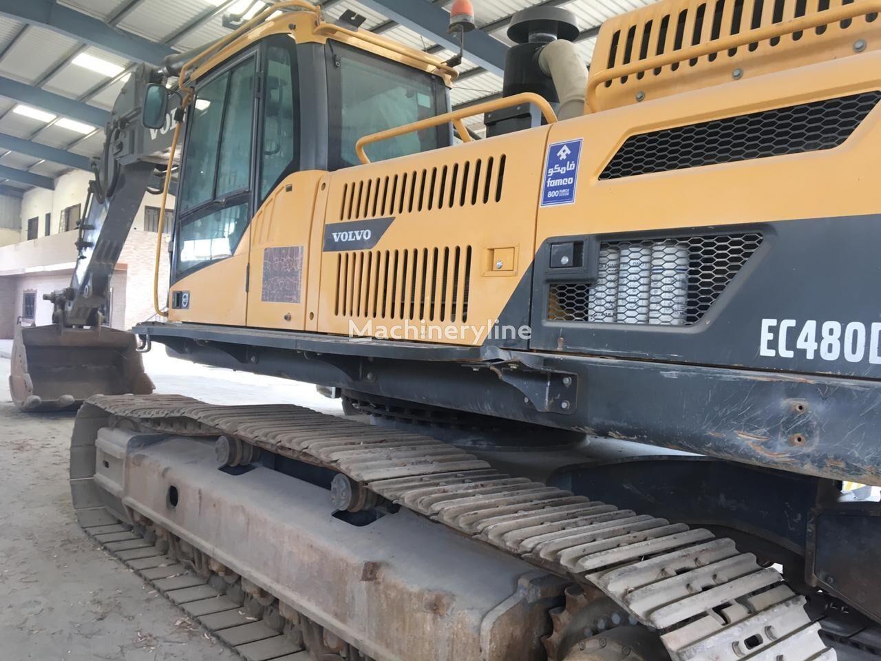 VOLVO EC 480 tracked excavator