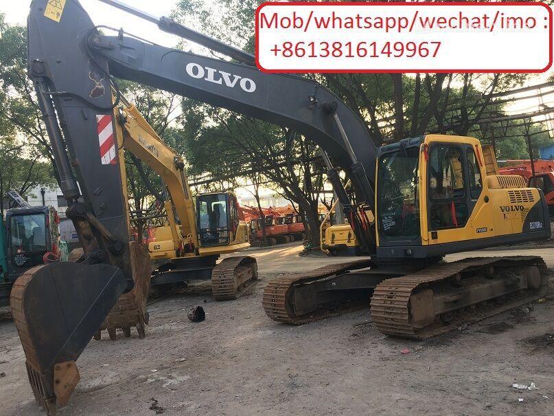 VOLVO EC210 tracked excavator