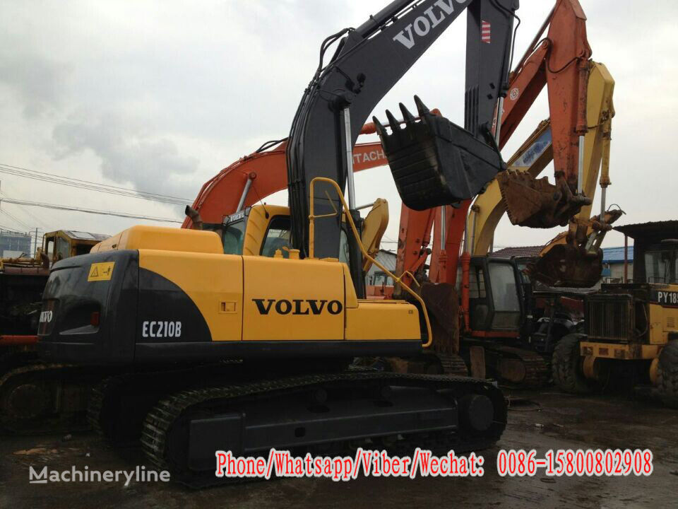 VOLVO EC210BLC tracked excavator for parts