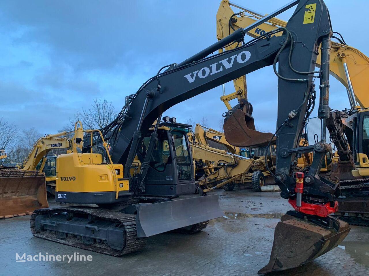 VOLVO ECR235CL tracked excavator