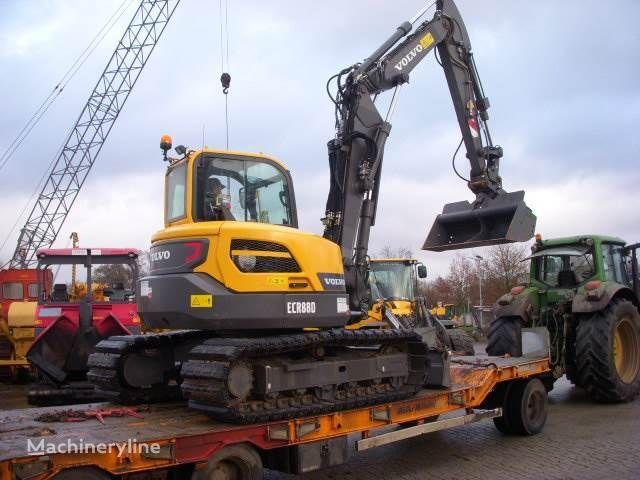 VOLVO ECR88D tracked excavator