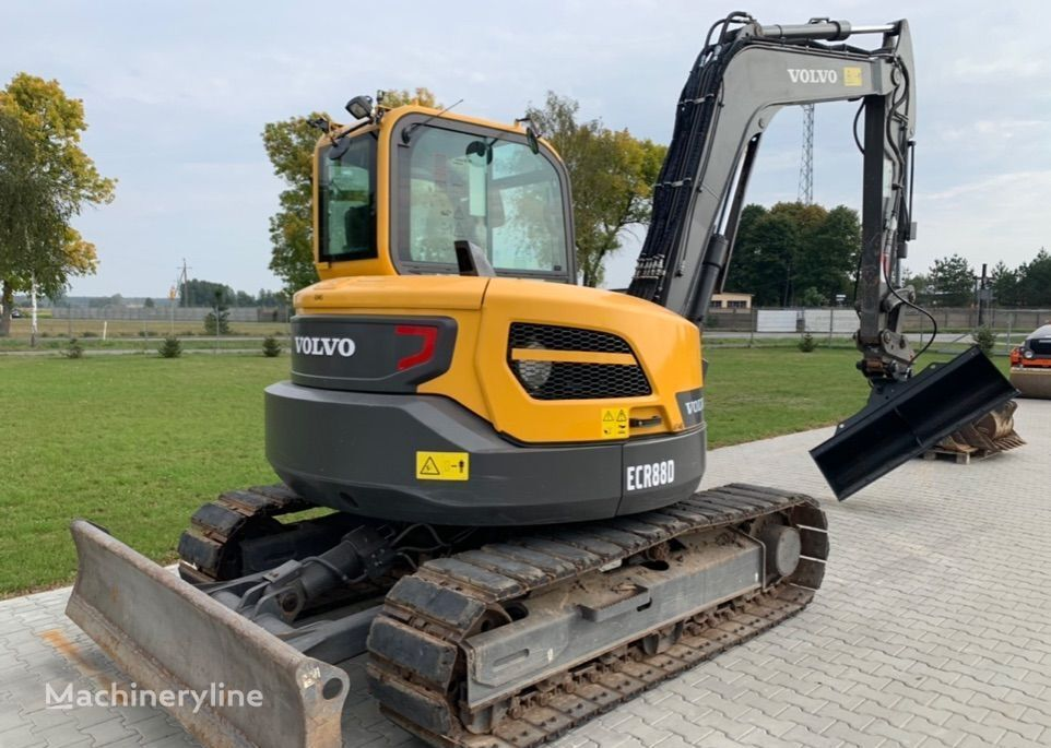 VOLVO ECR88D 2018 ROK tracked excavator
