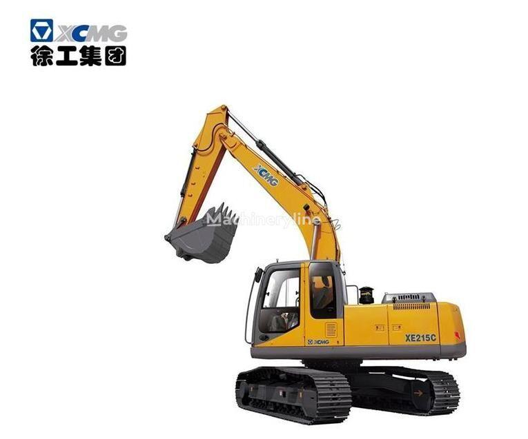 new XCMG XE215C tracked excavator