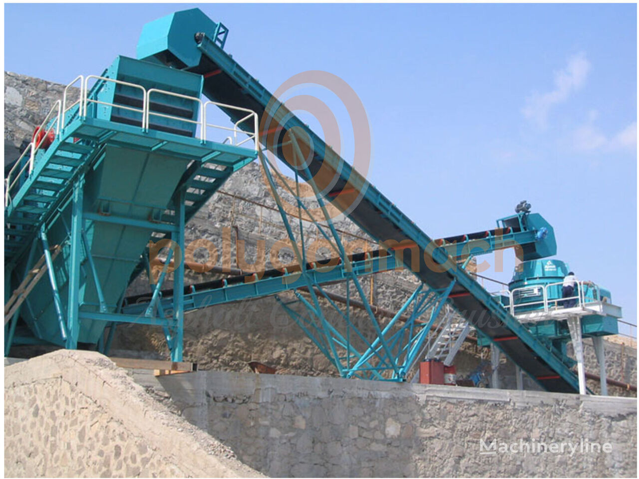 new POLYGONMACH PVS-2060 vibrating screen