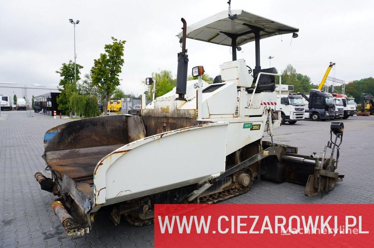 AMMANN AFT350E , 1.300 MTH ! , work width 3,5m , capcity 8,000kg , 230t wheel asphalt paver