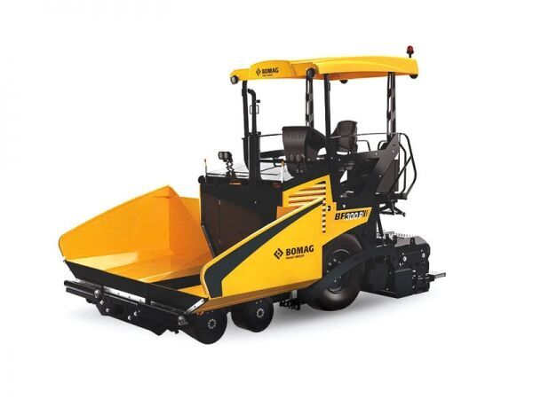 new BOMAG BF 300P-2 S340-2TV wheel asphalt paver