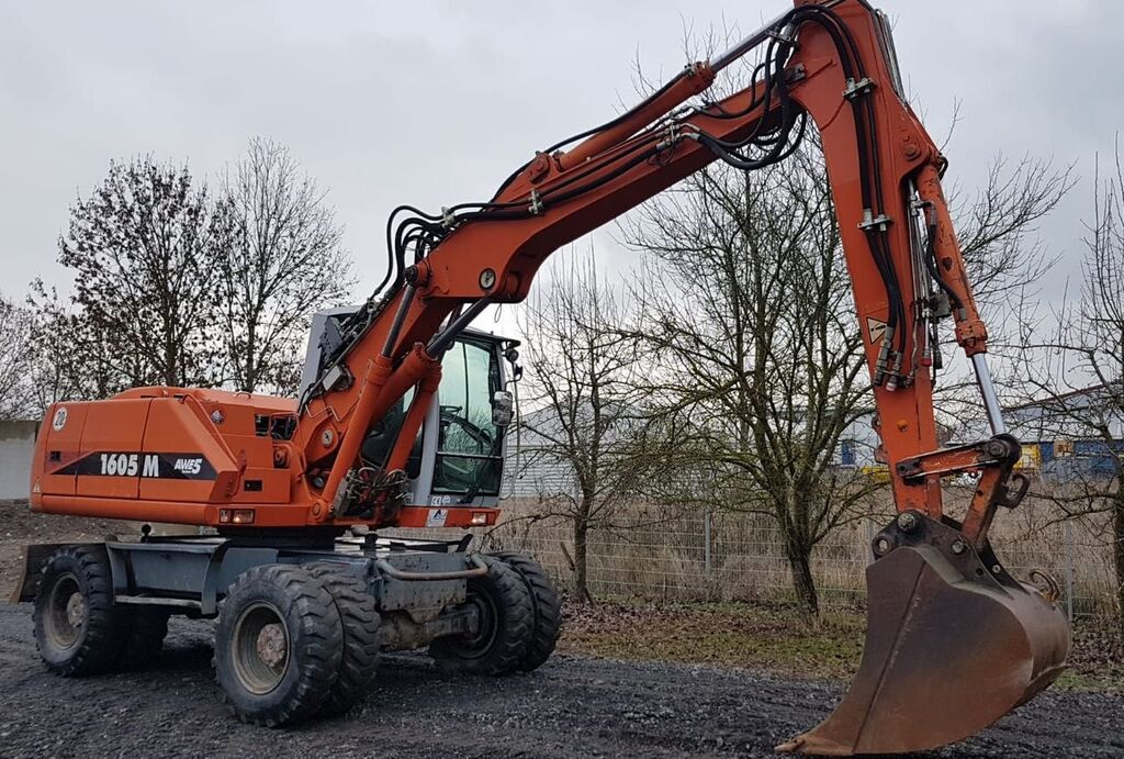ATLAS Terex 1605  wheel excavator