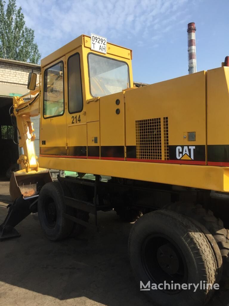CATERPILLAR 214 wheel excavator