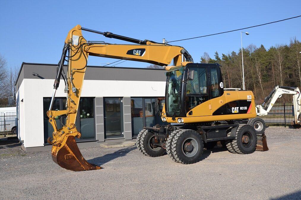 CATERPILLAR 313 D wheel excavator