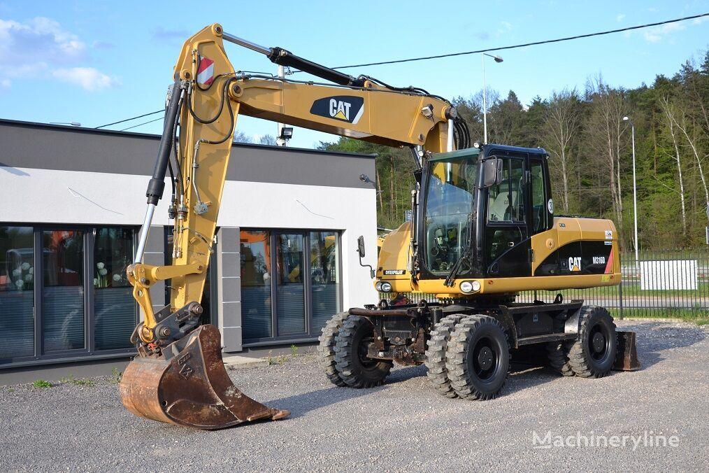CATERPILLAR 316 D wheel excavator