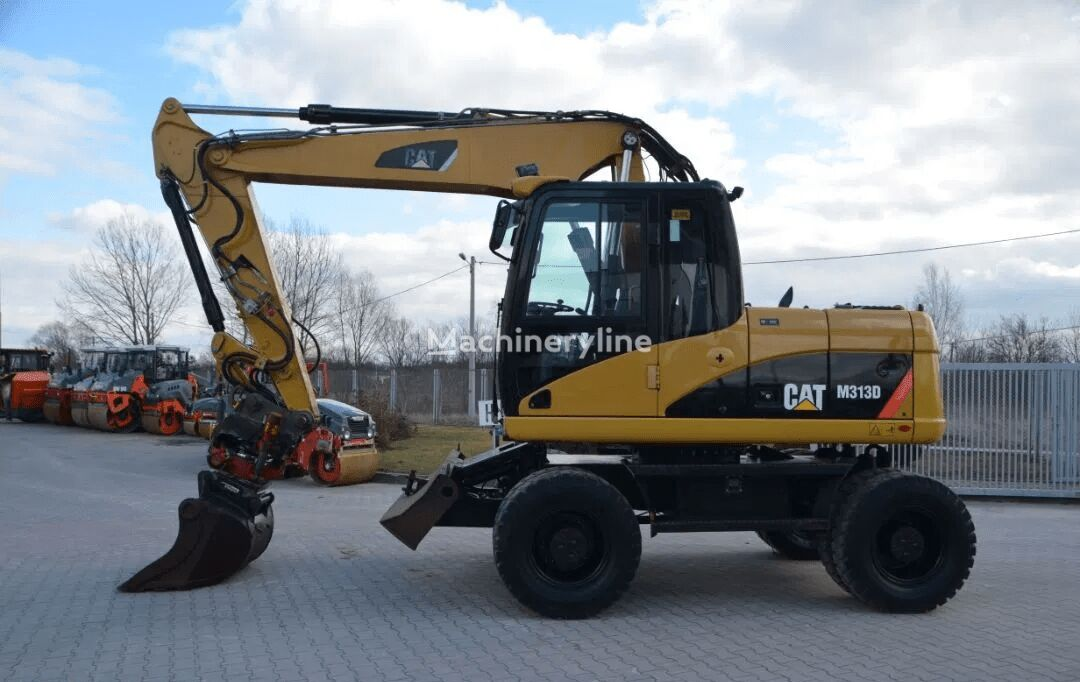 CATERPILLAR M 313D wheel excavator