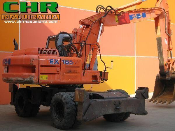 FIAT-HITACHI EX165W.3 wheel excavator