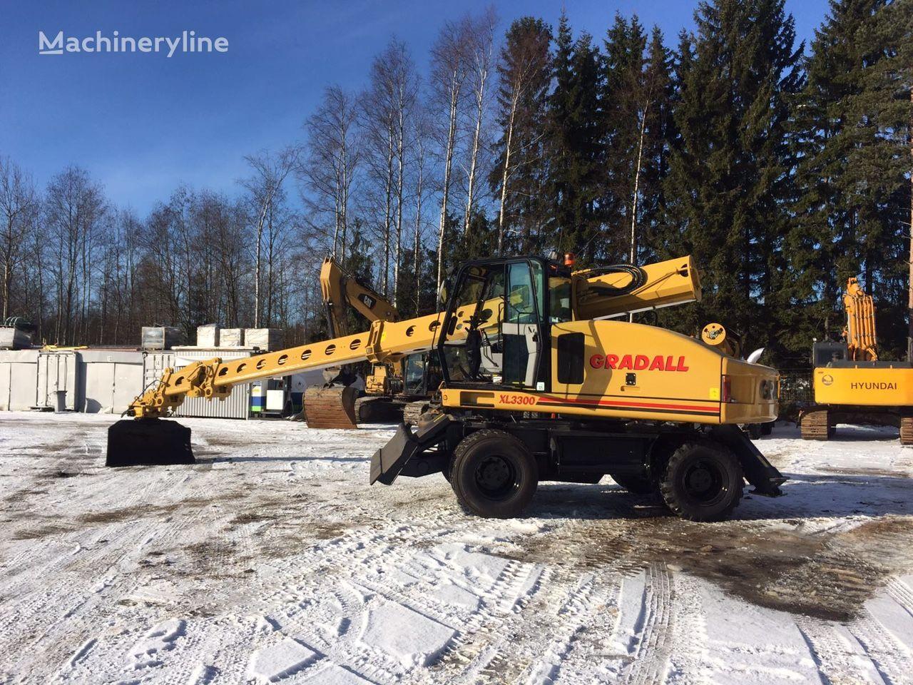 GRADALL XL 3300 wheel excavator