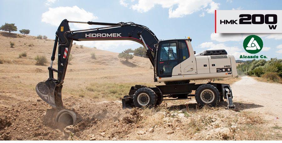 new HIDROMEK  HMK 200 W (0676906868, Dmitro) wheel excavator