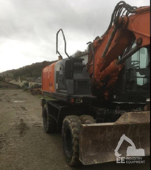 HITACHI ZX 140 W-3 wheel excavator
