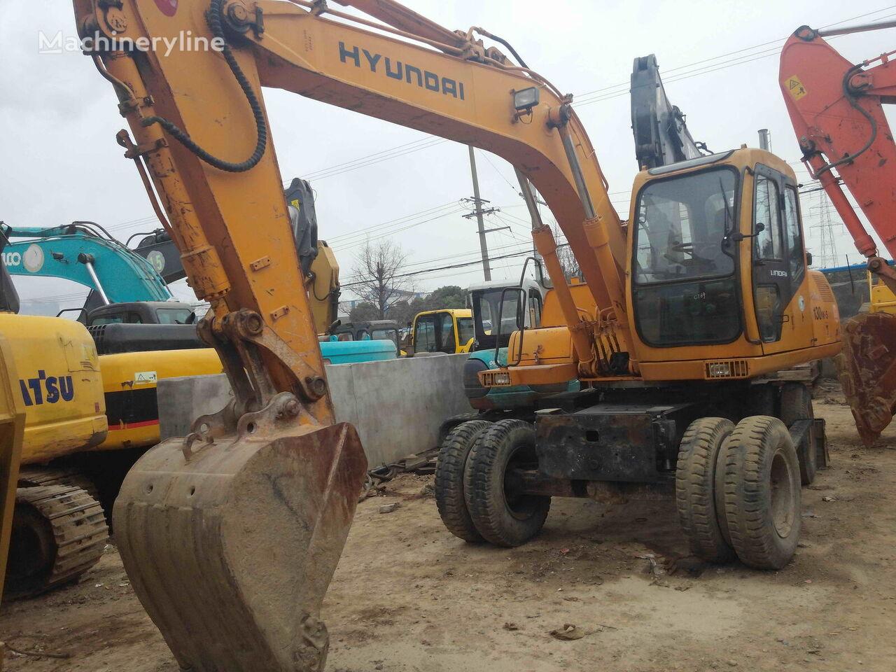 HYUNDAI Good condition 130W-5 wheel excavator