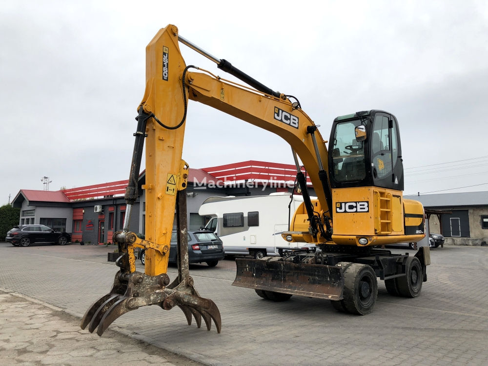 JCB JS 160 W wheel excavator