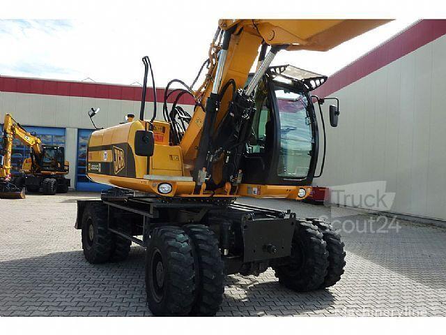 JCB JS 200 W  wheel excavator